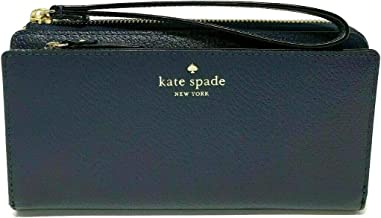 Kate Spade NY Grand Street Leather Layton Wallet Clutch - Navy