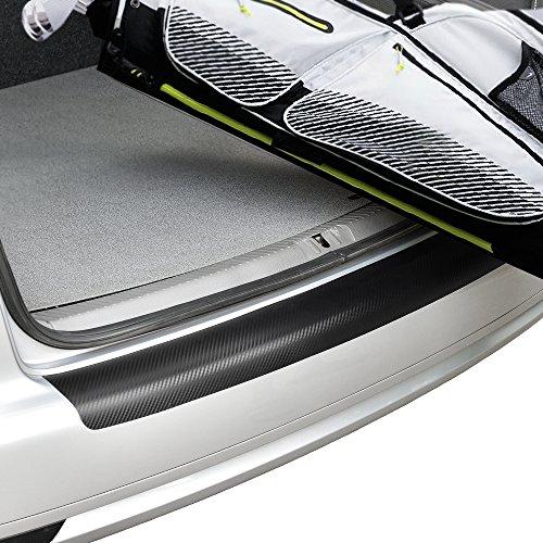 fibra de carbono - Adaptaci/ón perfecta Protecci/ón parachoques trasero acero pel/ícula de protecci/ón pintura in.tec 120x16cm - autoadhesivo