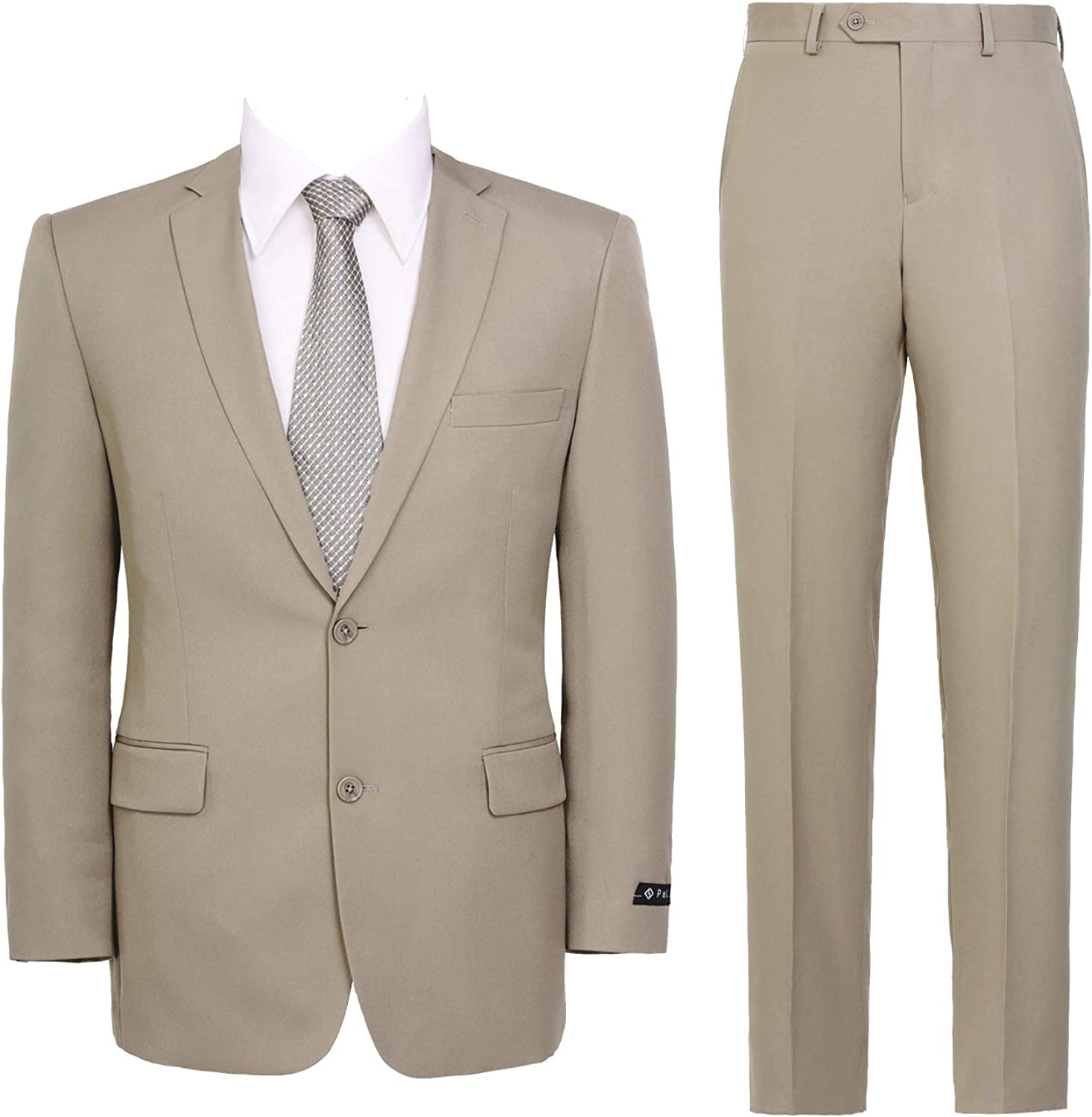 New products, world's highest quality popular! Men's Suit 2-Piece Classic Fit Solid Max 49% OFF Single But 2 Breasted Color