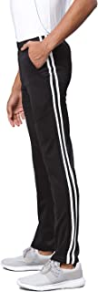 AMERICAN CREW Men's Trackpant Breathable Stretch Running Gym Pants