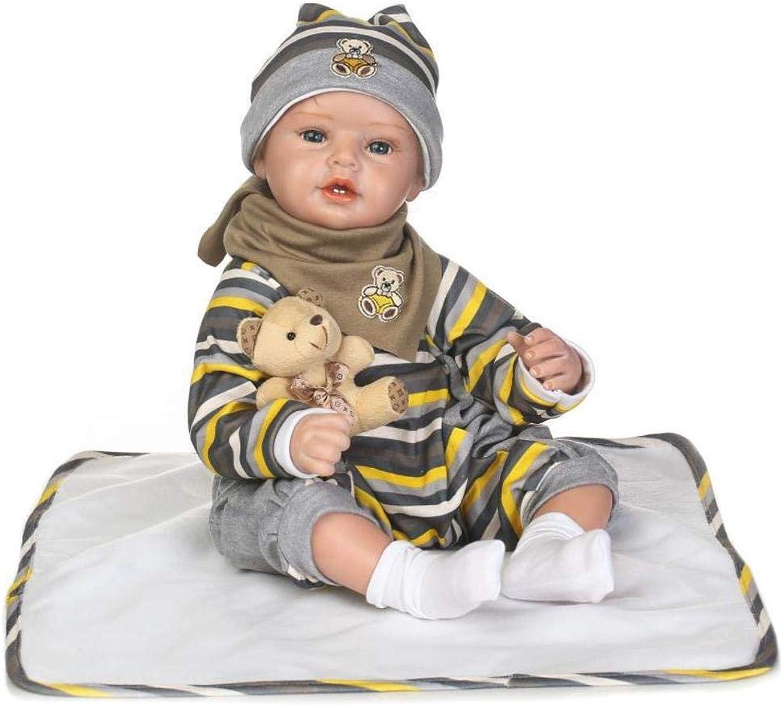 ZHRUIY Babypuppen Geeignet Für 3-14 Jahre Alt Wiedergeboren Babypuppe Weiches Silikon Realistischer Körper Erneuerbare Puppe mit Babykleidung Junge Mädchen Festival Geschenk B07GJFV6NH Trendy  |  Neuer Markt