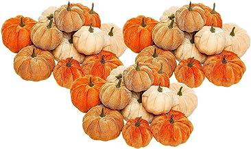 NC Travesseiro de Abóboras de Veludo 36x Festival de Halloween Colheita Outono Casa de ação de Graças