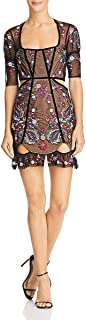 for Love and Lemons Womens Ester Embroidery Mini Dress