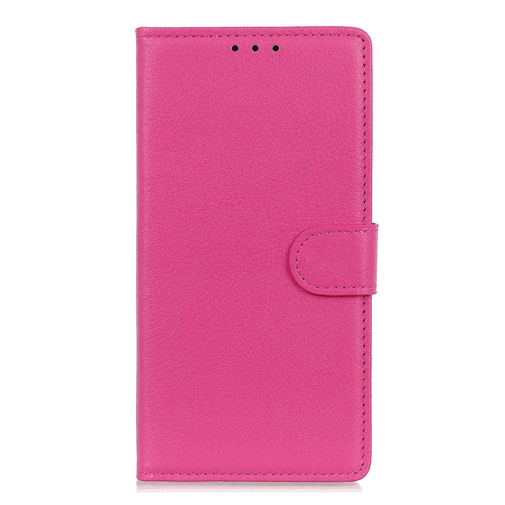Brown PU Leather Wallet Cover Flip Case for iPhone 11 Compatible with iPhone 11
