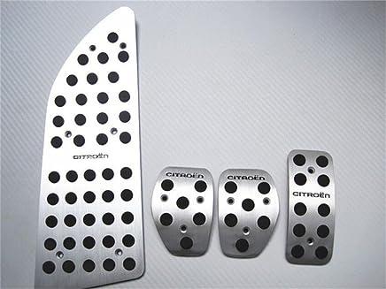 Bestmay - Reposapiés para pedales de freno de coche para Citroen C4L MT