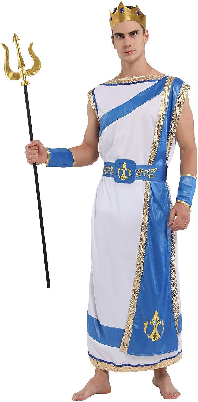Shanghai Story Halloween Cosplay Men's Neptune Costume