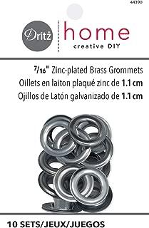 brass grommet sizes