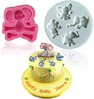 baby elephant candy mold