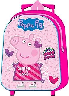 Peppa Pig Mochila con Carro 30cm Peppa Pig
