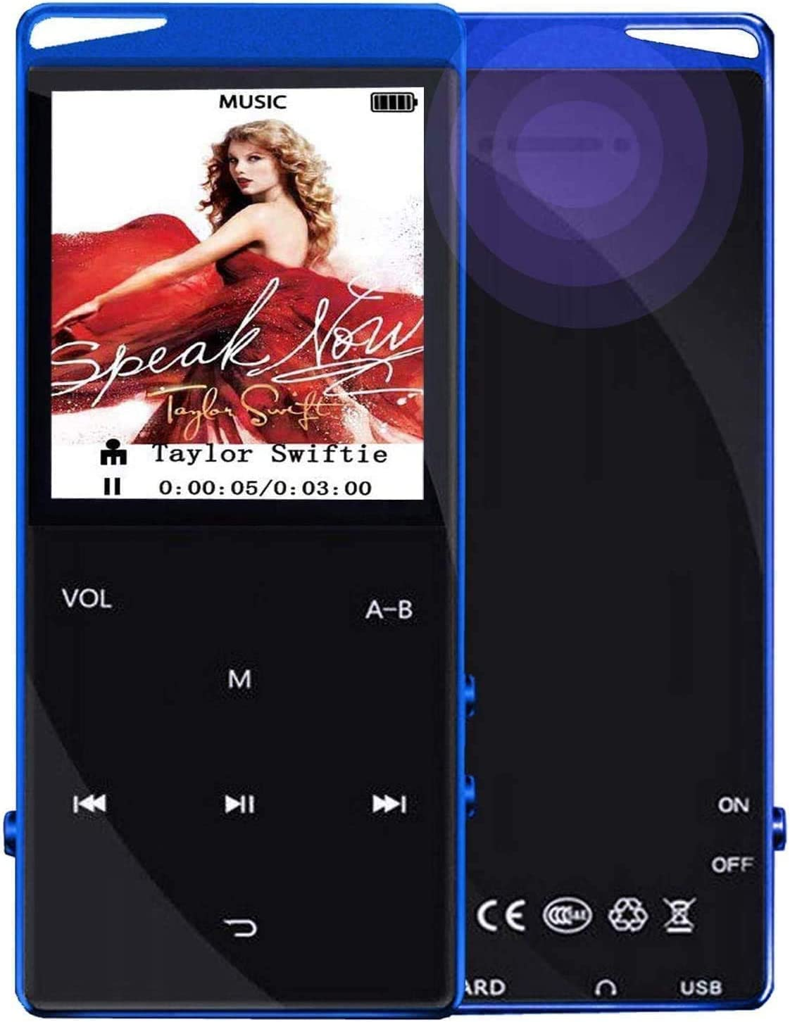 Frehovy 16G MP3 Player with Tampa Seasonal Wrap Introduction Mall 4.2 Portable Sou Lossless Bluetooth