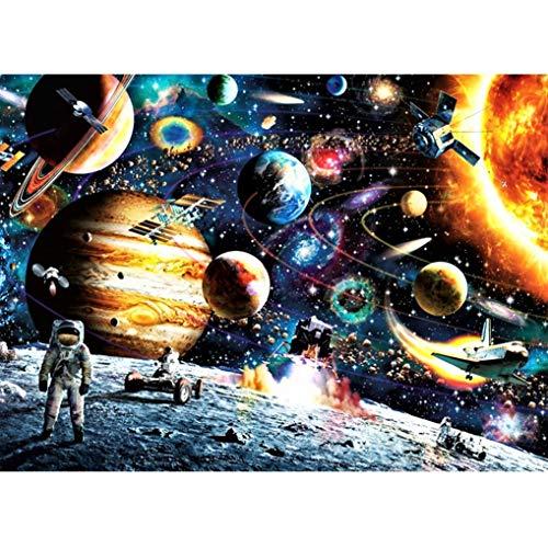 GuDoQi Puzzle 1000 Piezas Adultos Rompecabezas Sistema Solar del Planeta para Infantiles Adolescentes