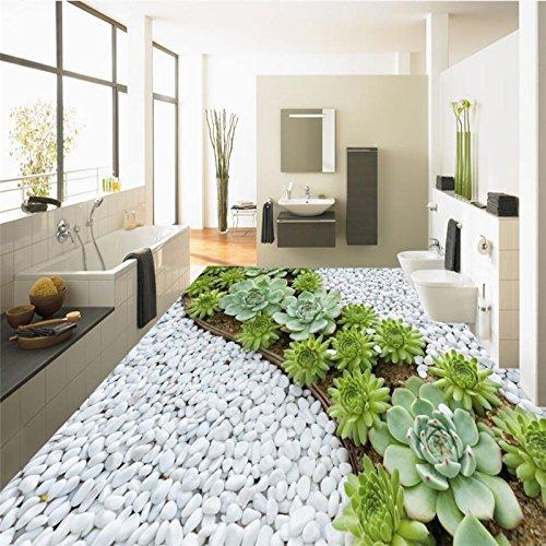 MzNm, Fresko Pvc, 3D-geplastificeerde cactus, bad painting custom, grote Fresko Pvc, waterdicht, dik, draagbaar papier 120 x 100 cm.