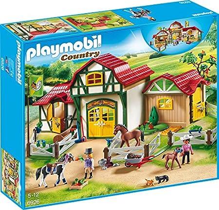 Playmobil Großer Reiterhof mit Tieren