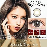 ドープウィンクワンデー スパークシリーズ 10枚入 【スタイルグレー】 -6.00