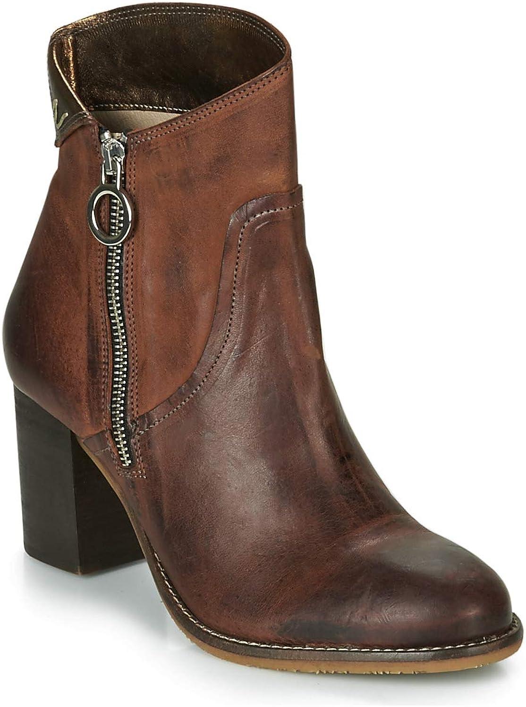 Casta NODA Stiefelletten Stiefel Damen Damen Cognac Low Stiefel  genießen Sie Ihren Einkauf