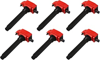 MSD 82736 Coils, Red, Chrysler V6 '11-'16, 6-Pack