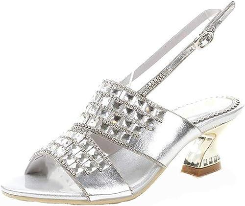 Unbekannt été Sandale de Plage Tongs pour Les Femme,Marchant Coin des Chaussures Flip-Flop,blanc,39