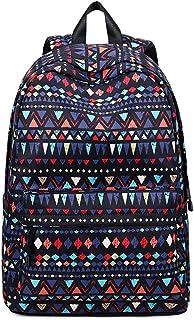 New Spring Simple Schoolbag, Large Capacity Wide Strap Effortless Comfortable Two Zipper Head Backpack, Boys Girls Teens Students Waterproof Polyester Schoolbag,A