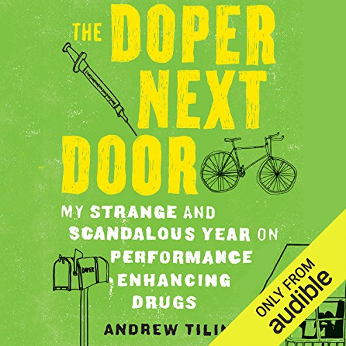 The Doper Next Door audiobook cover art