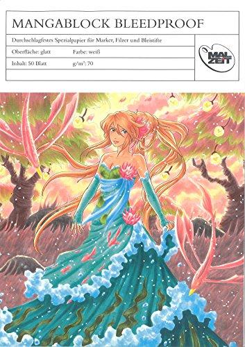 mangab Lock Bleed Proof, 50 feuilles, 70 g, Voir description, A4