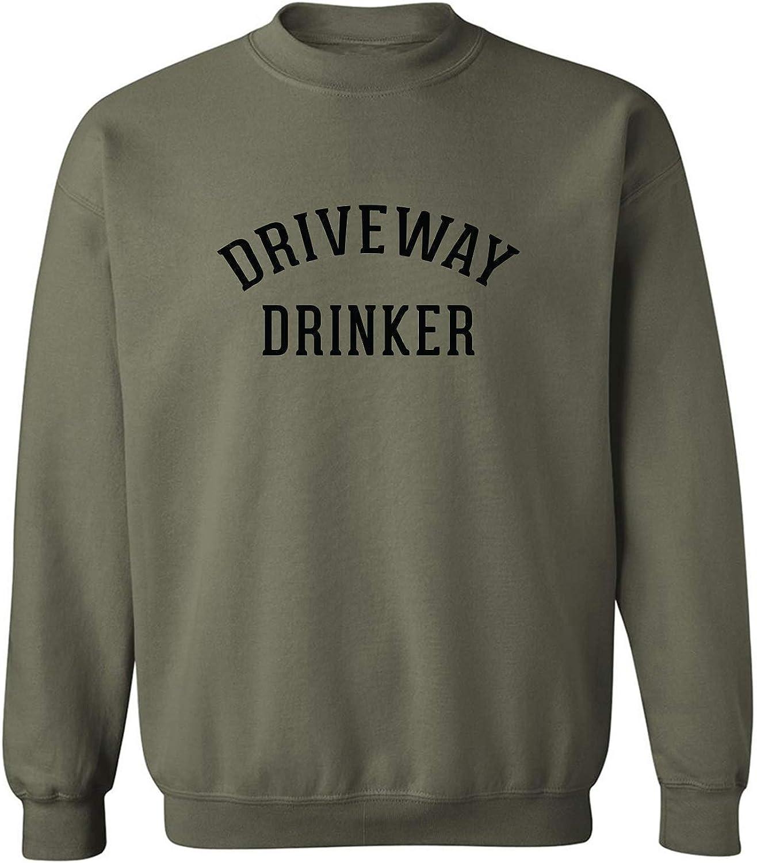 Driveway Drinker Crewneck Sweatshirt
