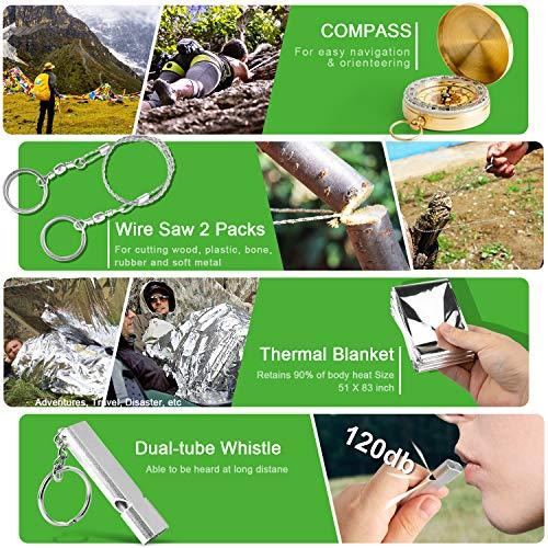 KOSIN Survival Gear Emergency Kit