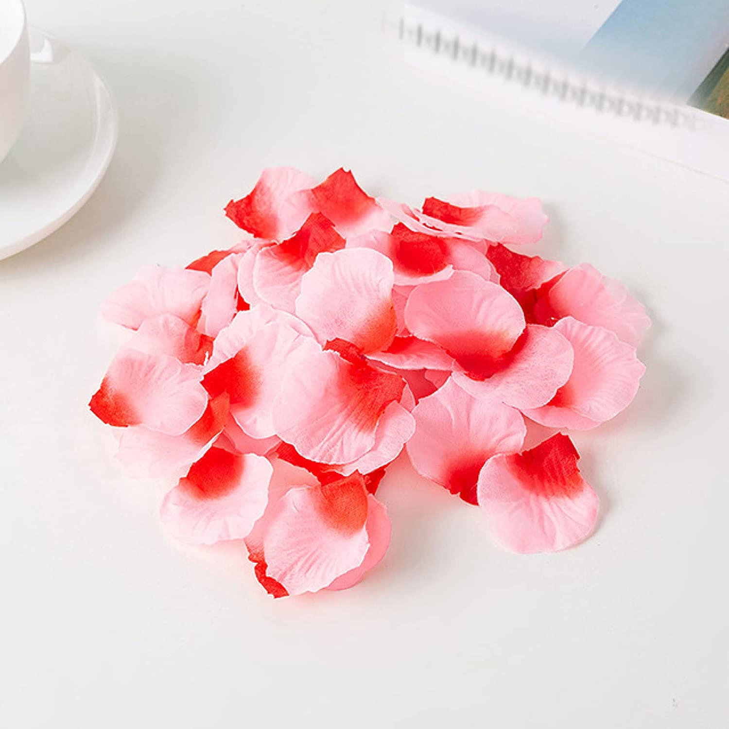 100 2021new shipping free 500 1000PCs Gorgeous Artificial Flowers Decorations Petals Party Rose