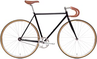 State Bicycle 4130 Chromoly Steel Fixed Geared Bike | Single Speed Drop Handlebar