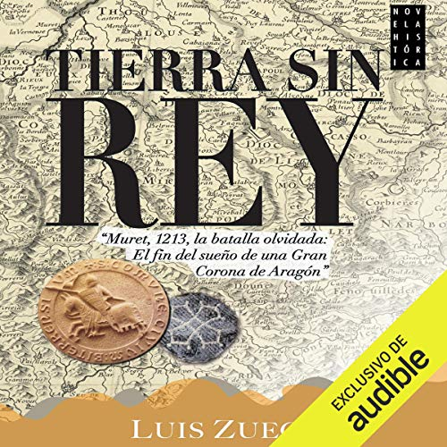Tierra sin rey audiobook cover art