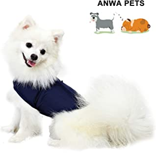 ANWA Dog Anxiety Thunder Vest Coat, Calming Dog Thunder Jacket Wrap, Dog Thunder Shirts for Small Medium Large Dogs