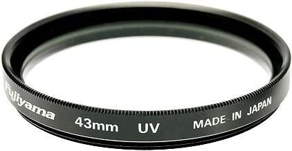 Fujiyama Black Circular Polarizing Filter Made in Japan for Panasonic Lumix DMC-FZ38 DMC-FZ35 DMC-FZ28 DMC-FZ18