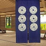 Cortina de puerta japonesa Noren para decoración del hogar, de LIGICKY,...
