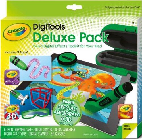 Crayola DigiTools Deluxe Pack - Digitales Mal-Set für Tablets (Apple iOS)