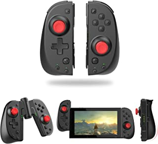 Wireless Switch Joy Con Controller, Vivefox Ergonomic Switch Controller L/R Replacement Joycon with Grip Connector Turbo, ...