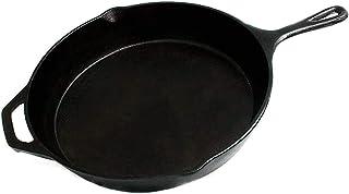FS Kitchen - Sartén de hierro fundido pretemporada, 12.5