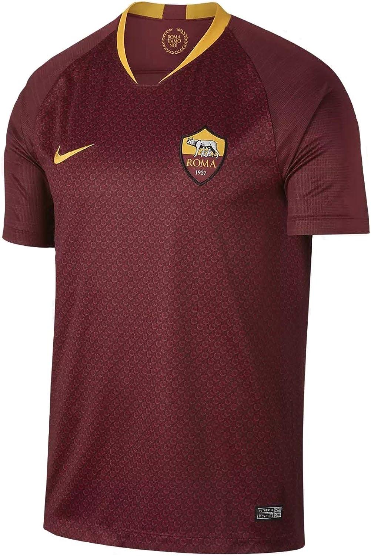 Nike Men's Breathe A.s. Roma Home Stadium T-Shirt