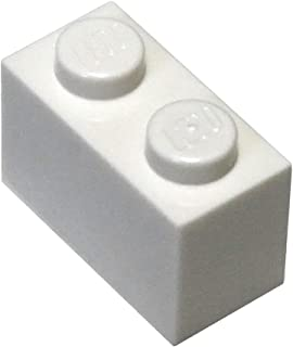 LEGO Parts and Pieces: White 1x2 Brick x200