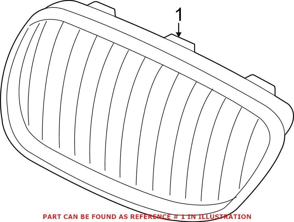 Genuine OEM Front Dedication Passenger Right Upper BMW 2 For Max 89% OFF Grille F22 F23
