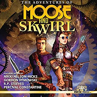 The Adventures of Moose and Skwirl                   Written by:                                                                                                                                 Nikki Nelson-Hicks,                                                                                        Percival Constantine,                                                                                        R. P. Steeves,                   and others                          Narrated by:                                                                                                                                 David A. Conatser                      Length: 4 hrs and 26 mins     Not rated yet     Overall 0.0