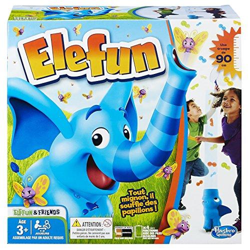 Hasbro Elefun - Jeu de société pour Enfants - Jeu d'adresse - Version française