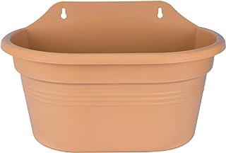 24327dde1c7db6 elho Green Basics Wall Basket 30 - Jardinera - Mild Terra - Exterior &  Balcón -