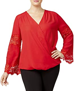 bba1def3a6f Amazon.com  Plus Size - Blouses   Button-Down Shirts   Tops   Tees ...