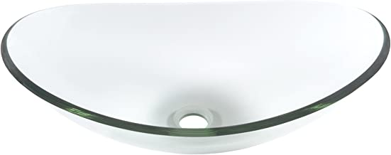 Best glass oval vessel sinks Reviews