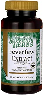 Best feverfew extract 380 mg Reviews