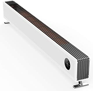 Calentador Espacial Bajo Consumo - Calefactor Eléctrico Portátil para Hogar - Radiador Convección con Temporizador - Control Aplicación Teléfono Inteligente - Termostato - Pantalla Digital LED,2200W