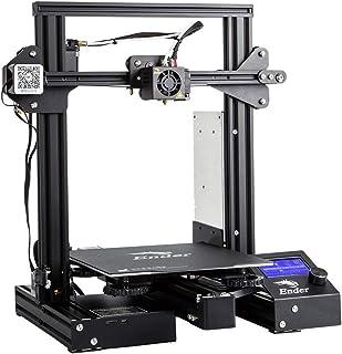 طابعة عالية الدقة ثلاثية الابعاد طراز 3 دي اندر- 3 برو من كريلتي يمكنك تشكيلها بنفسك مع قاذف MK-10 وتقنية استئناف الطباعة،...