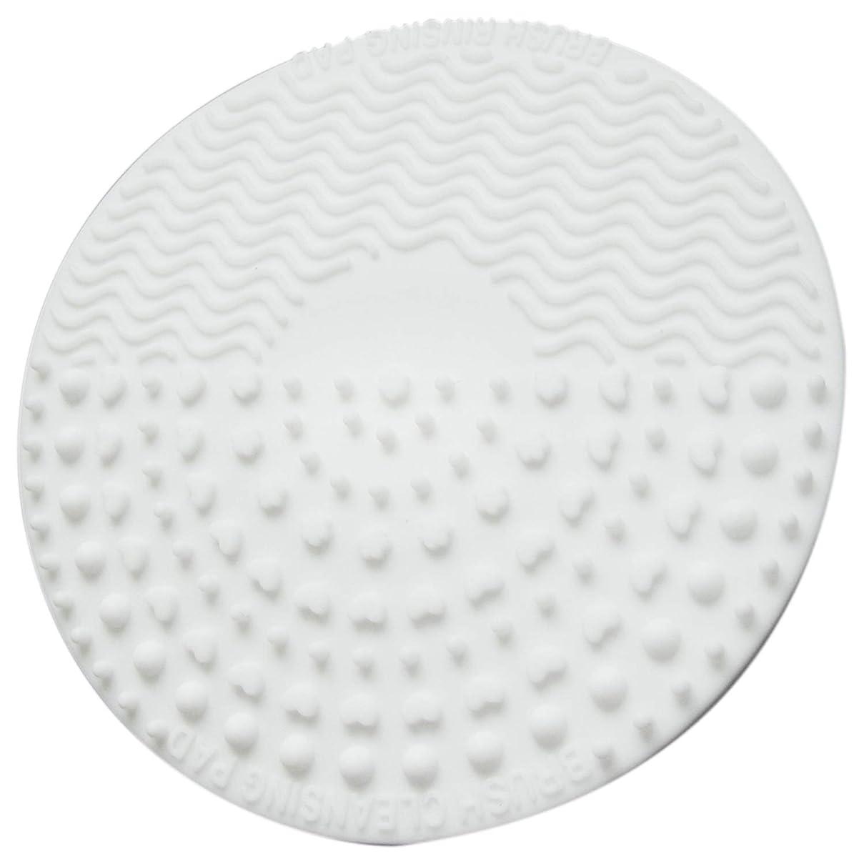 基礎理論高潔なスパイラルTOOGOO シリコーン化粧ブラシ クレンジングパッド パレット ブラシ クリーナークリーニングマット 洗濯スクラバーパッド 化粧品メイクアップクリーナーツール ホワイト