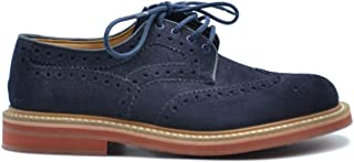 CHURCH'S Luxury Fashion Mens MCBI38380 Blue Lace-Up Shoes | Season Outlet