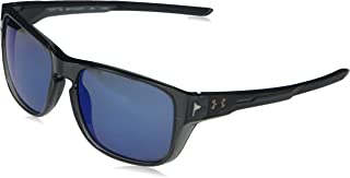 Under Armour Ua Pulse Polarized Square Sunglasses Carbon 57 mm