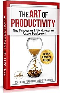 The Art of Productivity: Time Management is Life Management. Personal Development & Setting Goals PLUS Monthly Calendar Pl...